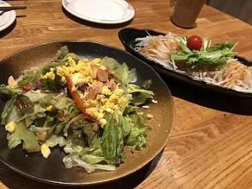 串鳥のサラダ