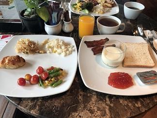 タイホテルの朝食バイキング