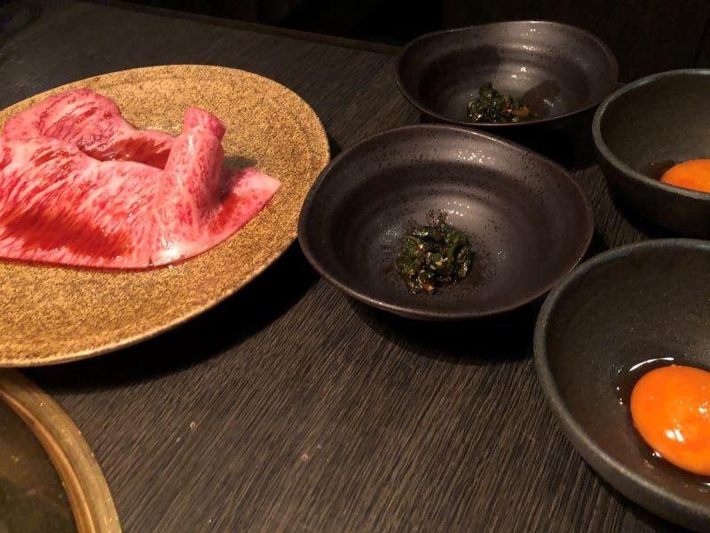 サーロインのヤンニョムすき焼き