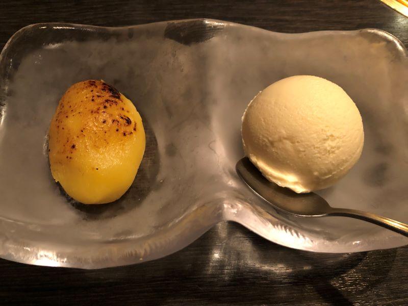 すぃ~とポテト&バニラアイス