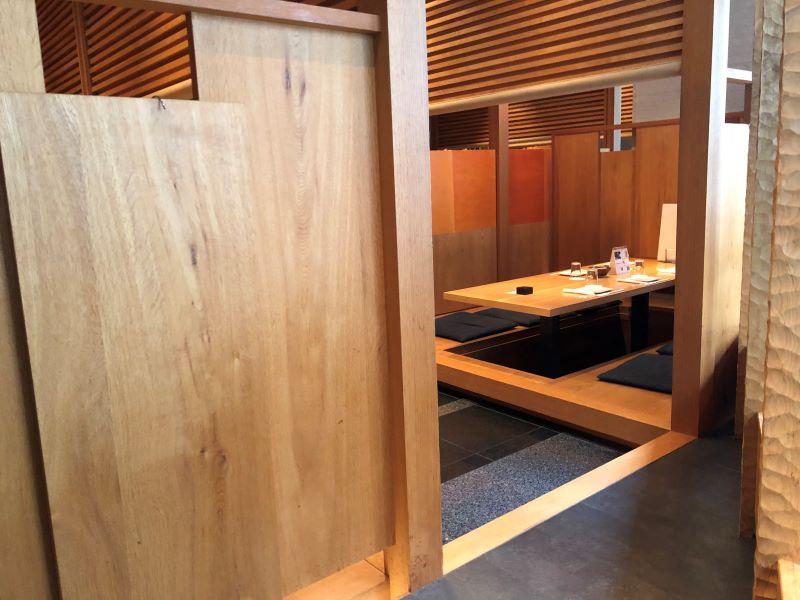 キチリ新宿店の半個室