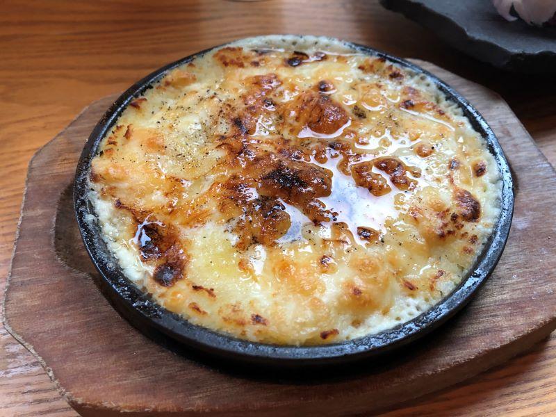 クリーミーマッシュポテトとチーズのオーブン焼き