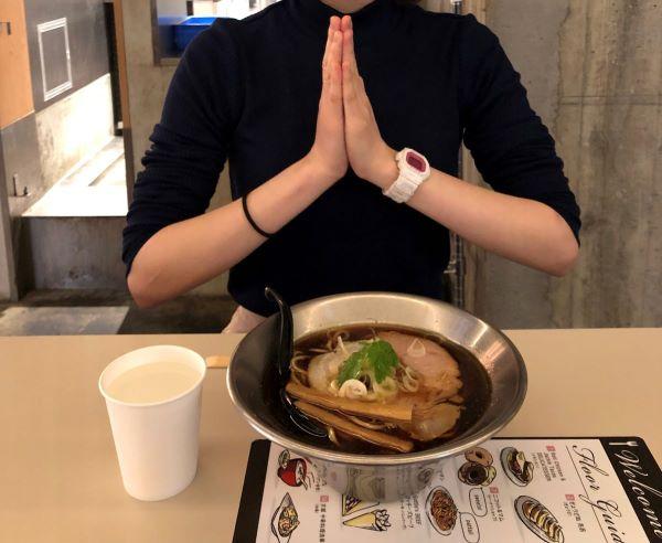 京都千丸 しゃかりき murasakiでラーメン