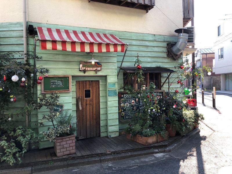 ハティフナット吉祥寺店の外観