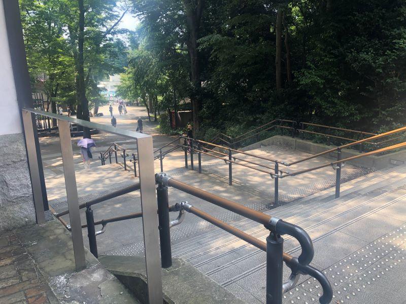井の頭公園の入り口