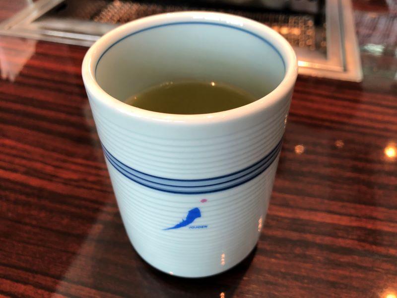 叙々苑のお茶