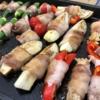 ホットプレートで肉巻き焼肉【レシピ】野菜のうまみそのまま!