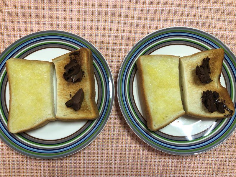甘いトースト