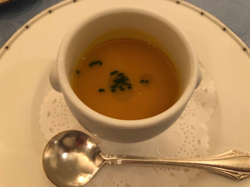 大宮クラウンレストランのスープ
