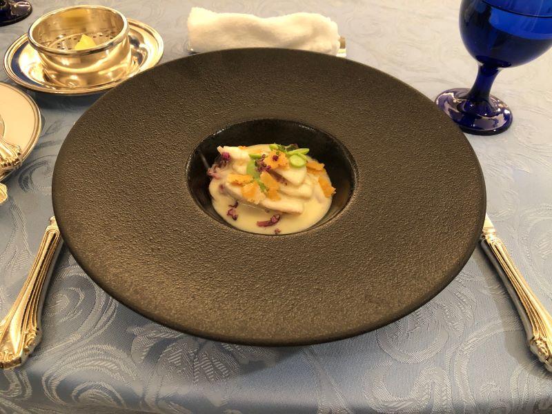 大宮クラウンレストランのランチコース「お魚料理」