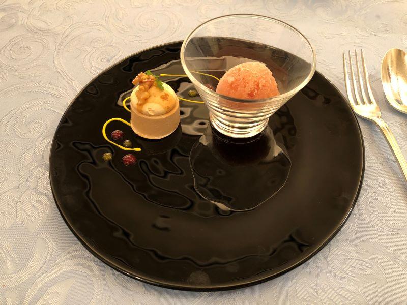 大宮クラウンレストランのランチコース「デザート」