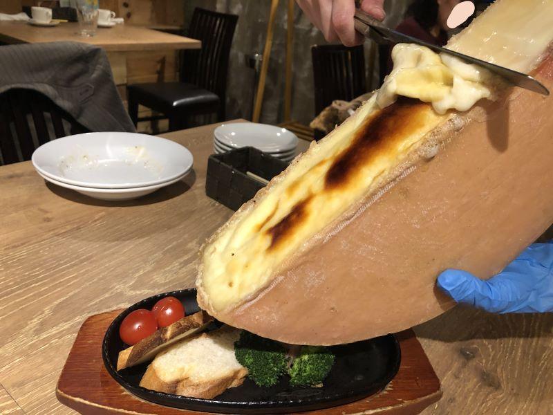 ヴォランティのラクレットチーズ