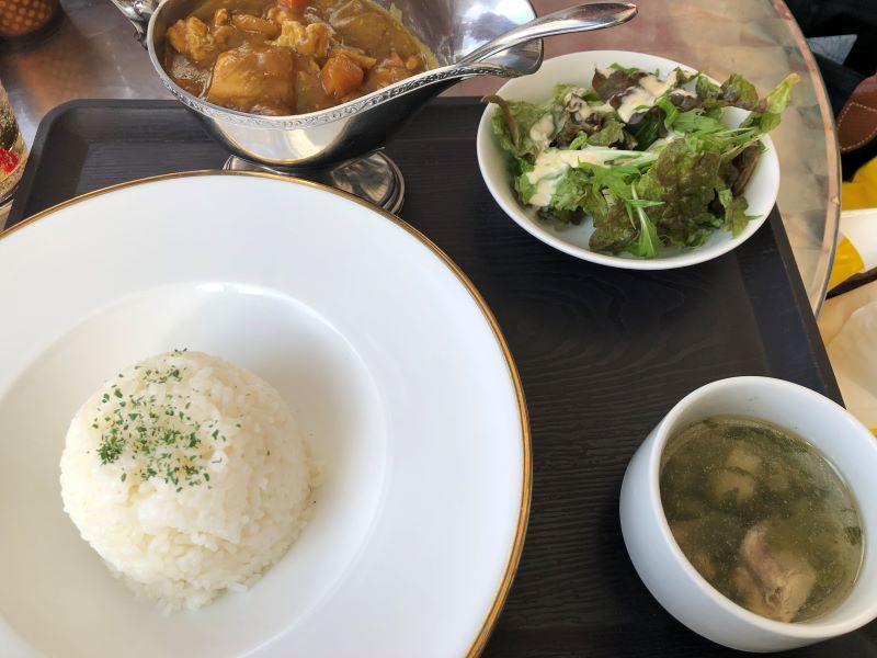 ピッコロカフェ カレー