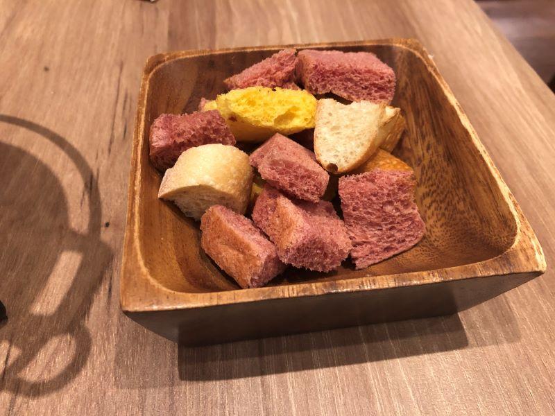 チーズキッチンラクレ新宿のチーズフォンデュ