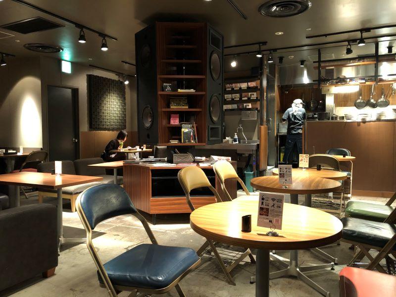 カフェ・アドレスルミネ大宮店の内観
