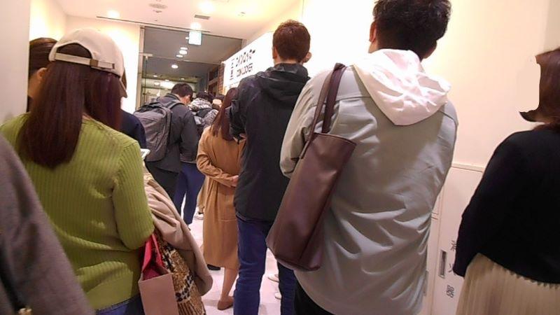 ブルックリンパーラー新宿店の行列