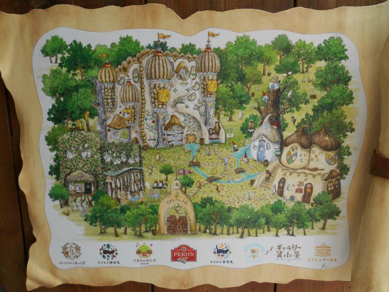 吉祥寺プティット村の地図