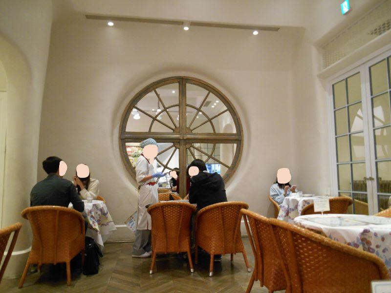 キルフェボン銀座店のカフェ