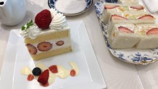 銀座千疋屋本店で食べたフルーツサンドとショートケーキがうますぎた